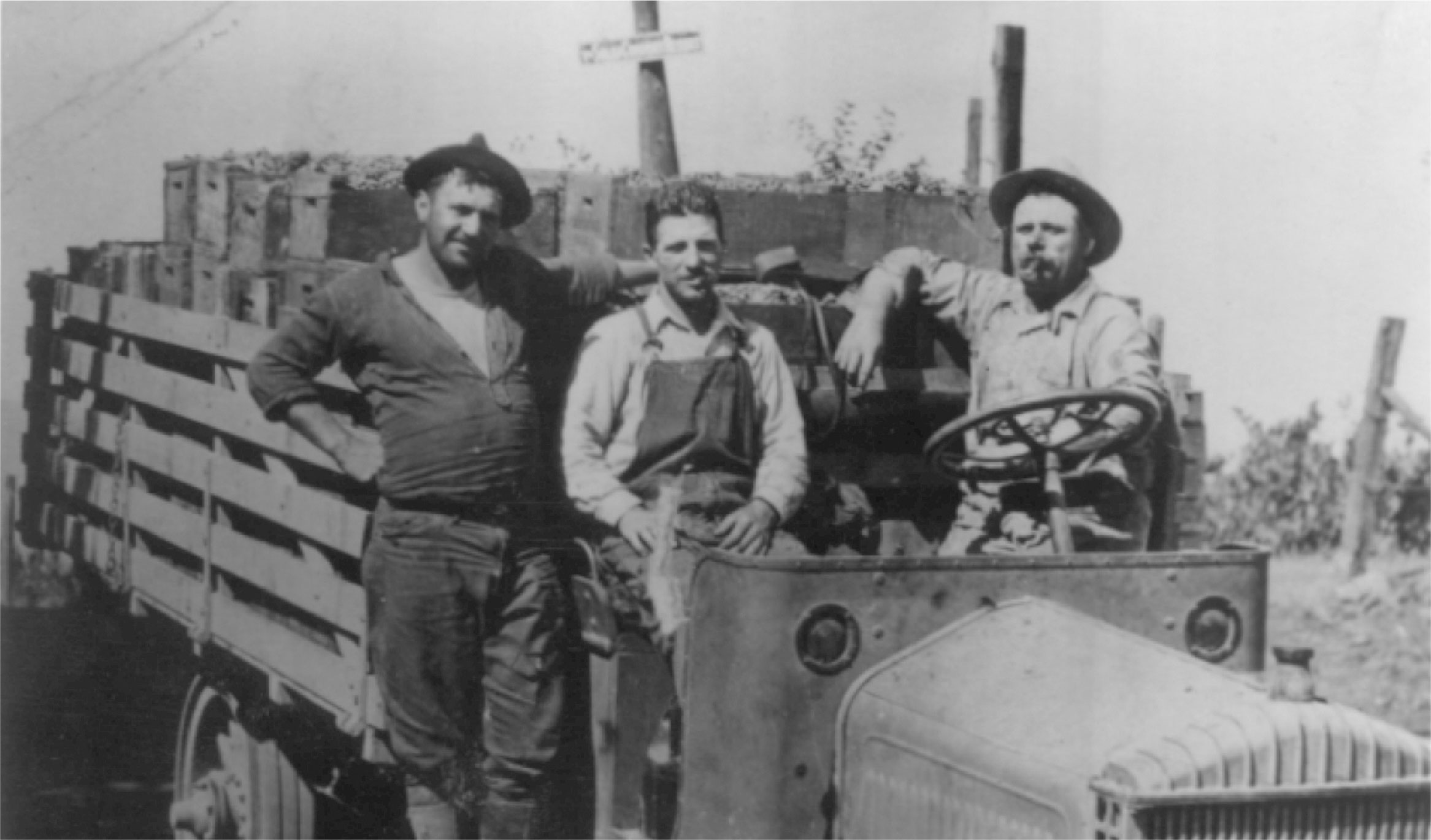 Henry Brandlin, pictured right, who planted the first vineyards on our estate.
